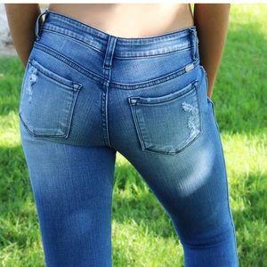 Denim - Sydney Split ankle Jeans